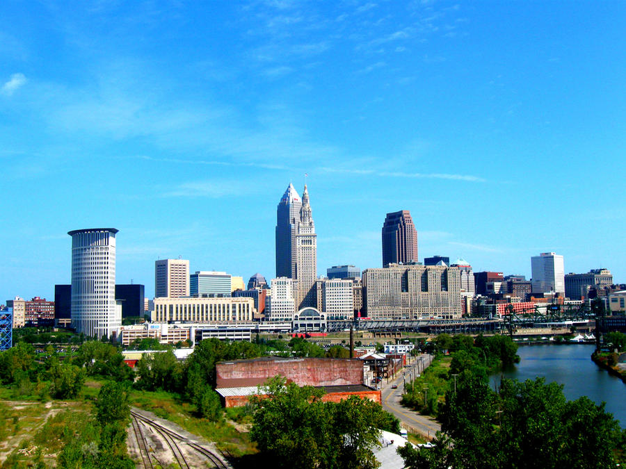 downtown cleveland ohio wallpaper - photo #6