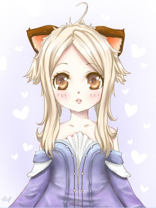 Sweet Elin by KayaMegumi