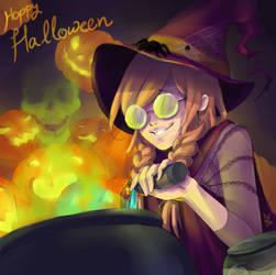 Happy Halloween by KayaMegumi