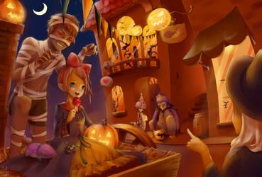 Aion Halloween 2013 by KayaMegumi
