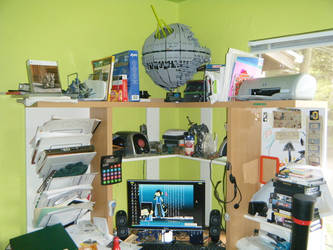 My Workspace Pt 3 by EcclecticCat
