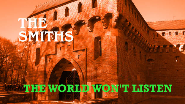 The Smiths-The World Won't Listen Cover Art