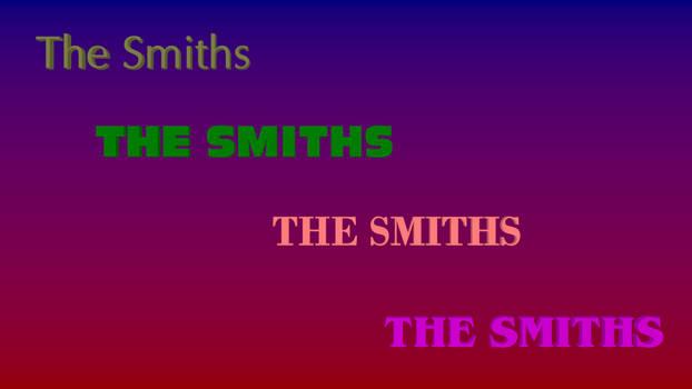 The Smiths Albums Logos