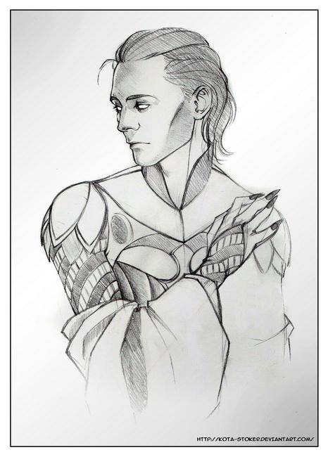 The_Sorcerer___Sketch by Kota-Stoker