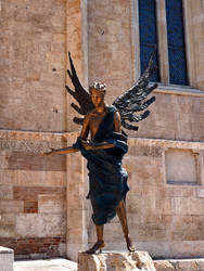 ANGEL STATUE - CATHEDRAL OF VERONA