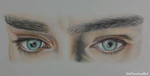 Thranduil's eyes