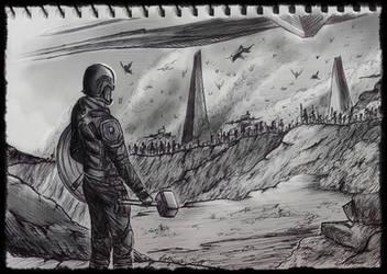 Inktober - Day 12: DRAGON