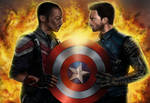 The Falcon and the Winter Soldier by KateFrankienaBeck
