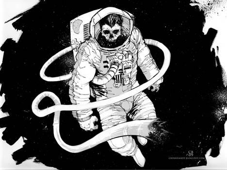 Spaceman Pinup