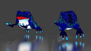Ogreish Enemy Frog by daughterofmoonlight