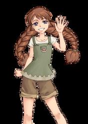 Melody Illustration by kasami