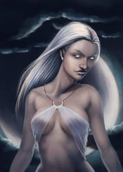 Goddess - Lunaris by kasami