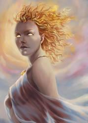 Goddess - Solara by kasami
