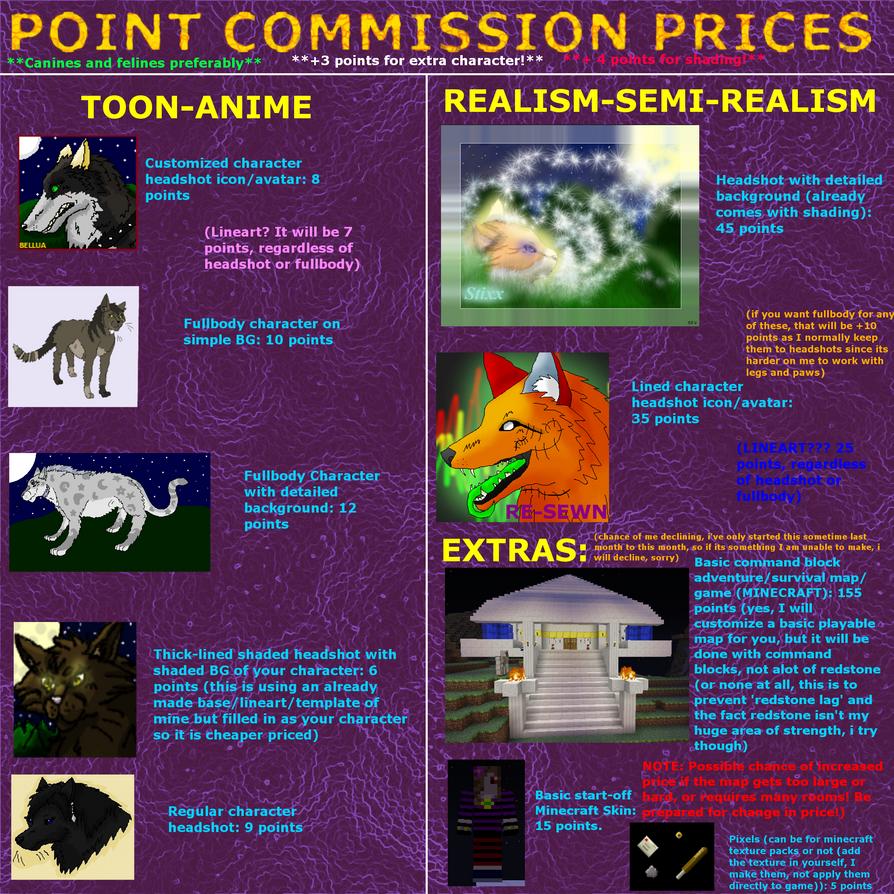 UPDATED PC PRICE LIST by xX-NIGHTBANEWOLF-Xx