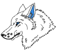 Headshot Giftie for DemonWolfAtreiyu by xX-NIGHTBANEWOLF-Xx