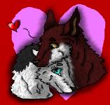 Valentine small version by xX-NIGHTBANEWOLF-Xx