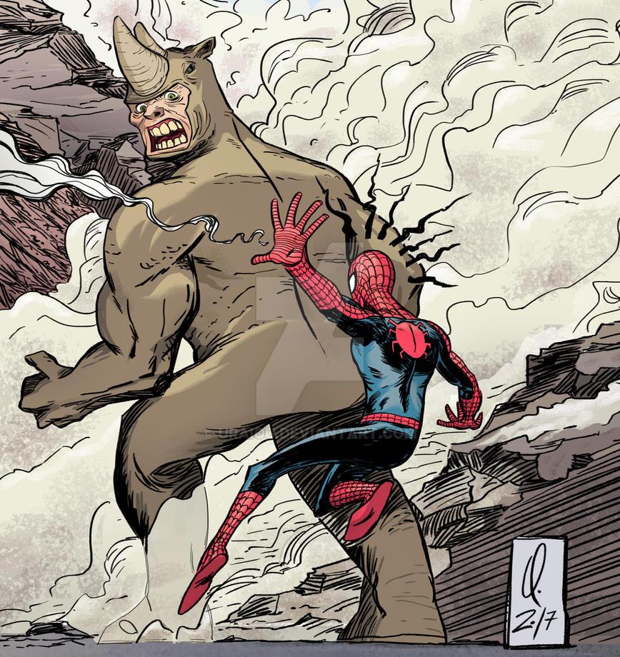 Spiderman by uRaioU