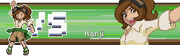 You are challenged by Trainer Hanji! by L33o