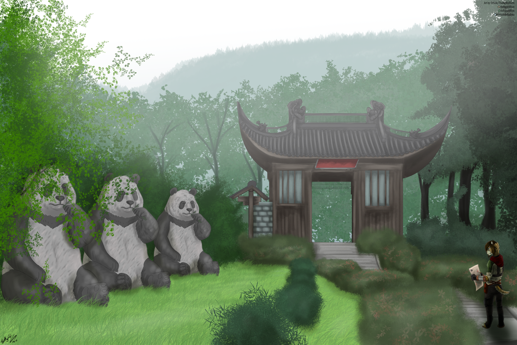 [PATREON] Lingyin temple, China 2018. by thebigwolflion