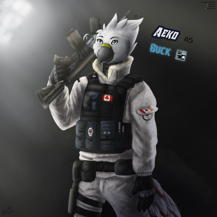 [COM Aeko as Buck by thebigwolflion