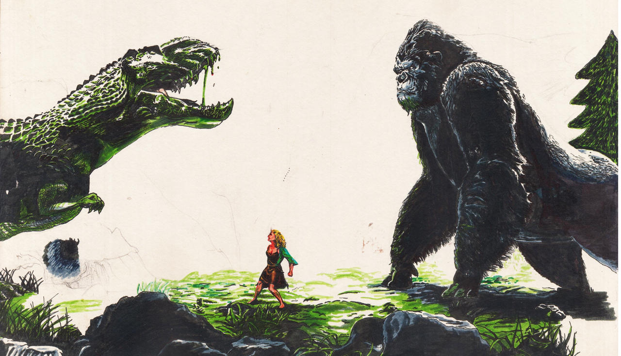 King Kong 2005 By Manish21artist On Deviantart