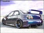 Subaru Impreza S204.