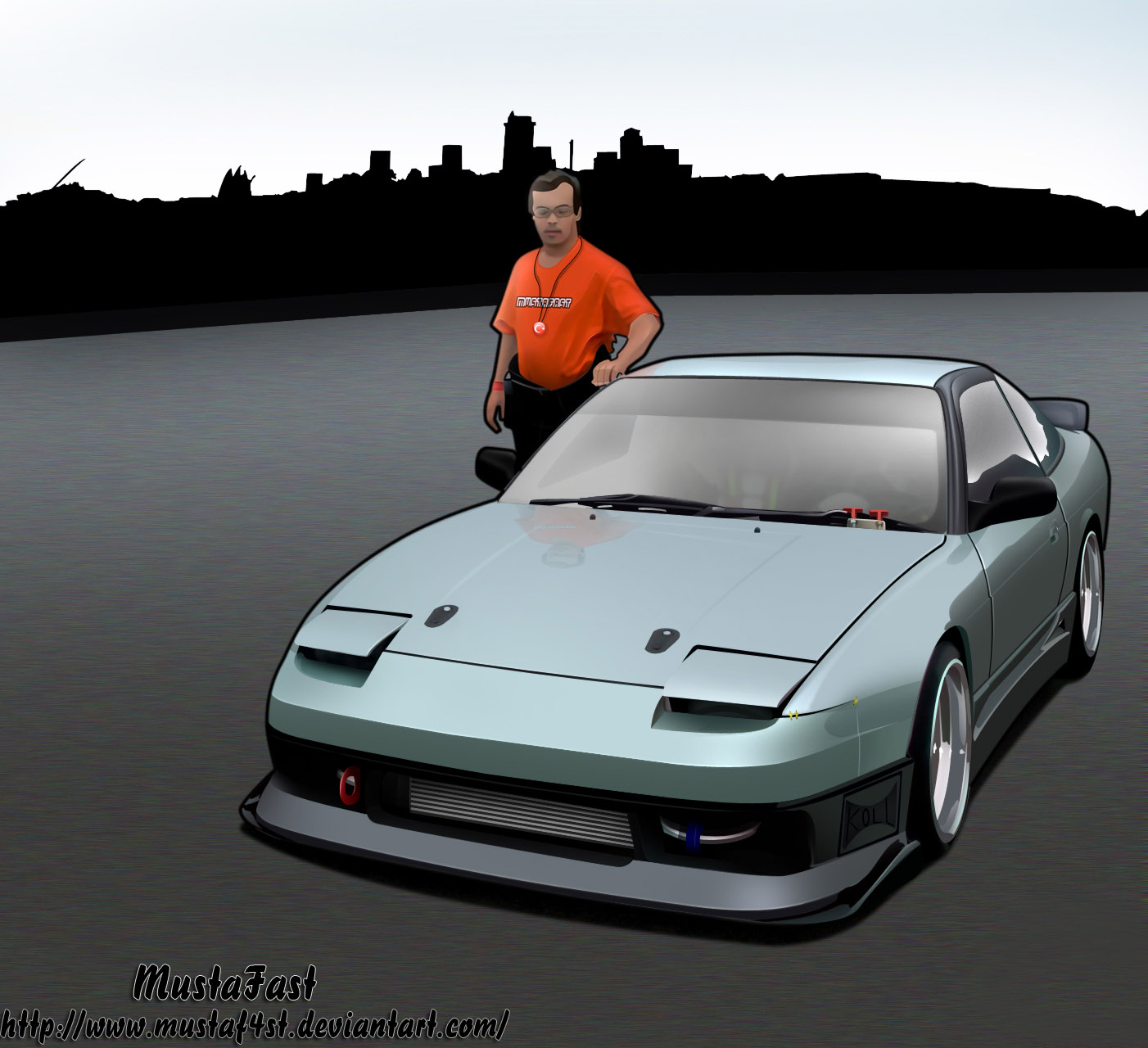 Nissan 180sx Toon by mustaF4ST