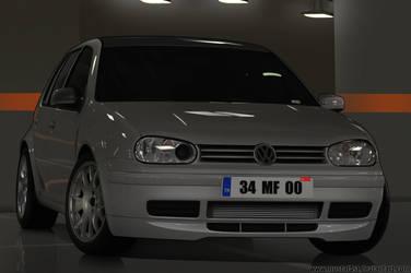 VW Golf - Toon by mustaF4ST