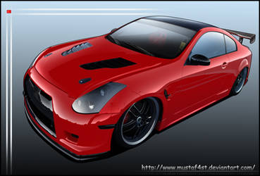 Infiniti Inferno G35 Coupe by mustaF4ST
