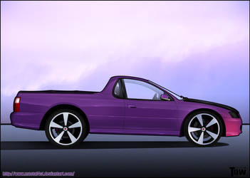 2007 Holden Ute by mustaF4ST