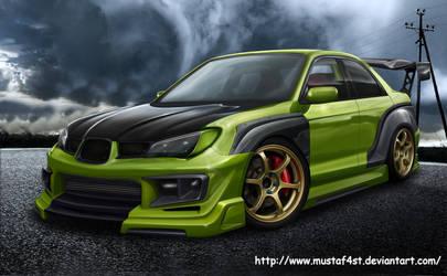 Subaru Impreza wrx by mustaF4ST