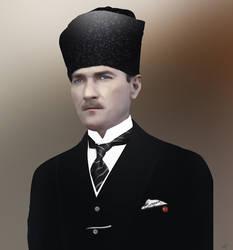 Mustafa Kemal by mustaF4ST