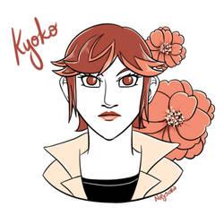 Inktober 2019 Day 24: Kyoko