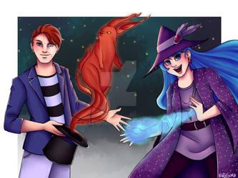 Rufus and Cyan