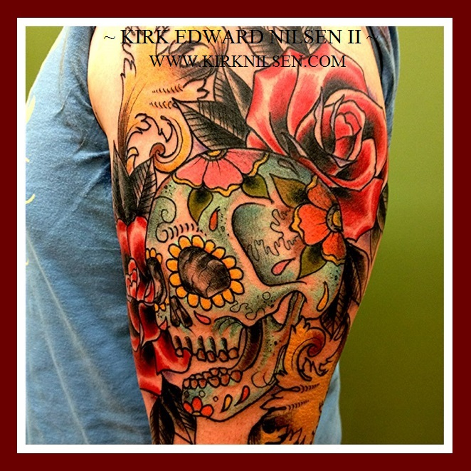 tattoo by kirk nilsen new jersey by kirknilsen on deviantart