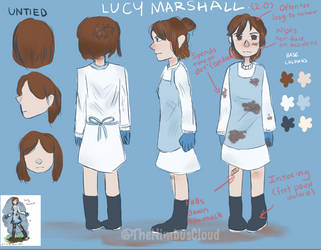 OC Lucy: updated reference by TheNimbusCloud