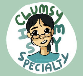 Misc: Clumsy is my specialty by TheNimbusCloud