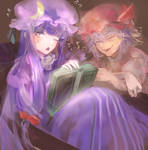 patchouli and remilia