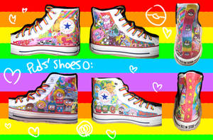 South Park unt Pokemon Shoes by Puds