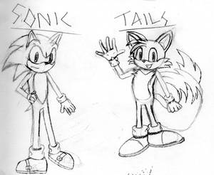 Sonic and Tails Practice