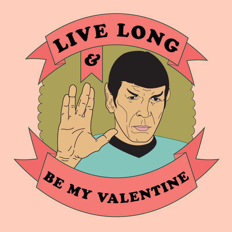 A Vulcan Valentine by LindermanArt