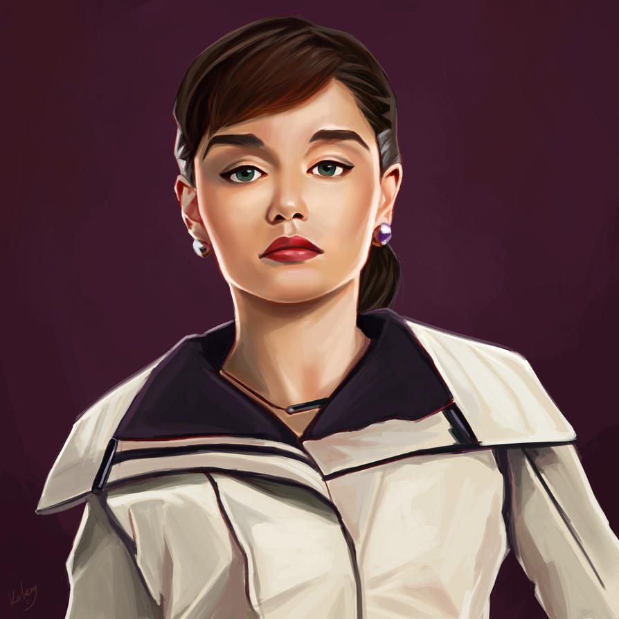 Qira from Star Wars: A Solo Story by KarkengChan