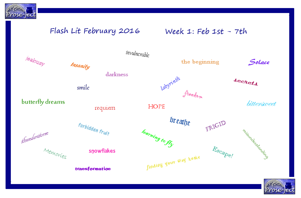 Flash Lit February (FLF) Week 1 by kiwi-damnation