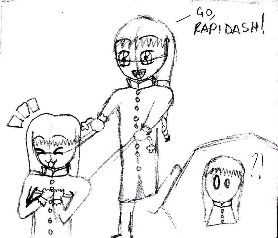 Go, Rapidash by ValentinaAmai