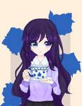 Art Trade - Blue Violet Roses