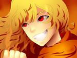 Fiery Blonde