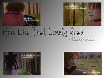 -Screenshots- Lonely Road x by BlackRhapsodos