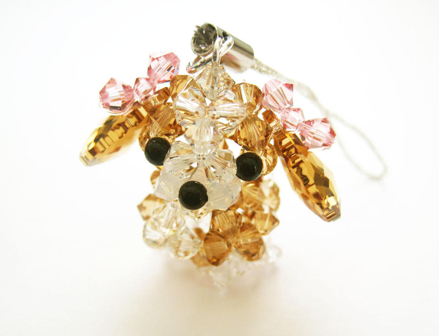 Swarovski Crystal Dog - Hound by SparkleMeHappy