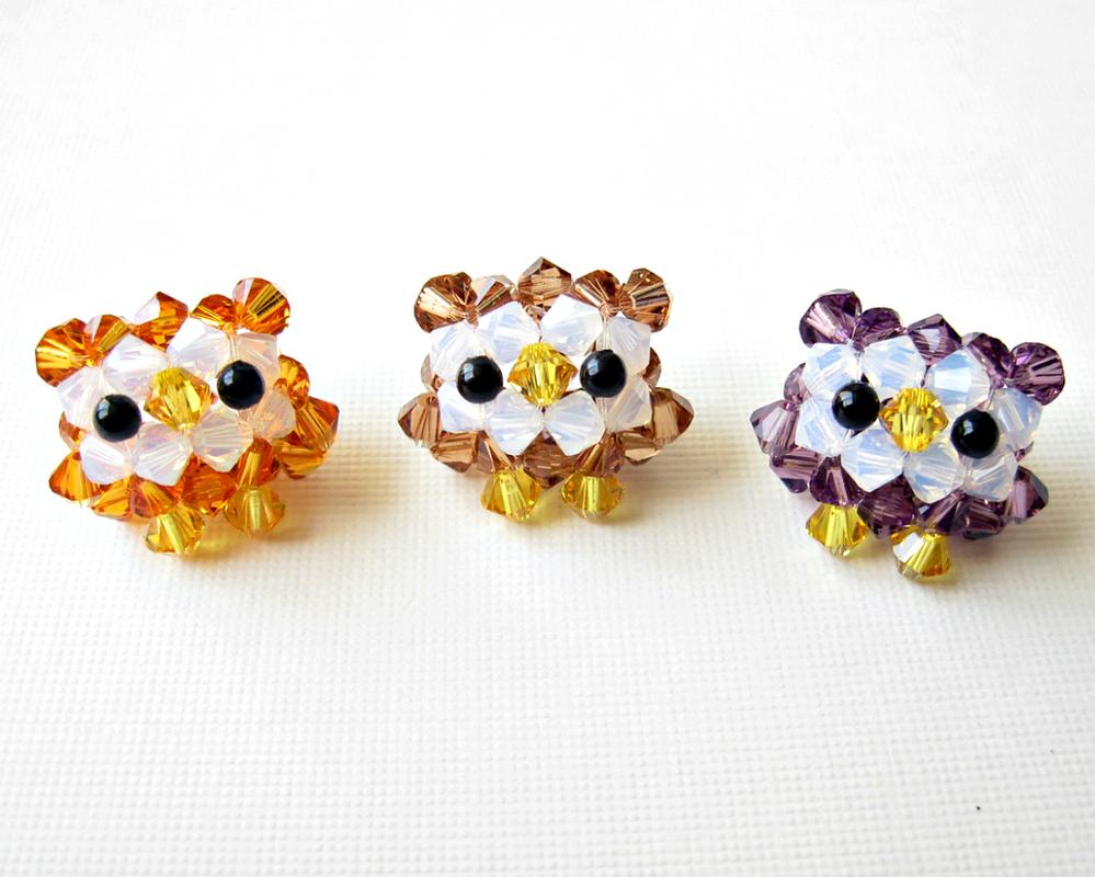 Owl Trio 1 by SparkleMeHappy