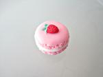 Strawberry Pink Macaron